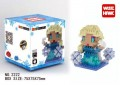 Diamond block toy Frozen - Elsa