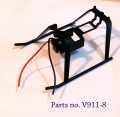 V911 rc helicopter parts - landing gear