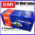 4 Channel BMI Radio Control RC mini Lama helicopter