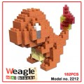 Weagle mini block toys - cartoon & aninmal - Charmander