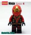 Decool Minfigure, Ninja series, Series 4, Ninja KAI No Package Box