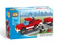 Loz Diamond block Toys - City series, Fire Pick up Truck