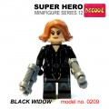 Decool minifigure Series 12 - Black Widow NO PACKING BOX