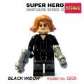 Decool minifigure Series 12 - Black Widow NO PACKING BOX