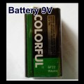 Non Re-chargeable 9V DC Battery