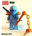 Decool minifigure - Ninja series, Nrg Zane, No Package Box