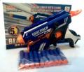 BLAZE STORM Soft Bullet gun, 5 DART 2014 Version