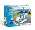 Loz Diamond block Toys - City series, Police helicopter