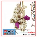 Weagle mini block toys - cartoon & animal - Mewtwo 超夢夢