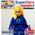 Decool Minfigure, Super Hero series, Fantastic 4 Set, No Package Box