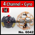 UFO Style Fly Flying Ball 3 Channel 3CH Remote Control RC Helicopter with GYRO