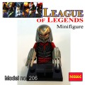 Decool minifigure - League of Legends Series Zed NO PACKING BOX