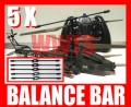 5 x balance bar for SYMA S009 Apache  RC helicopter / S002 RC helicopter