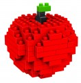Loz Diamond block toys - mini fruit - apple style