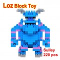 Loz Diamond block toys - cartoon & aninmal - Sulley Dave style