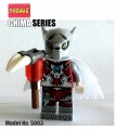 Decool minifigure - Chima series, Worriz, No Package Box