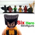 Decool minidfigure, Super Hero series II, Full set Package