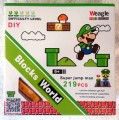 Weagle mini block toys - Cartoon Series - Green Mario