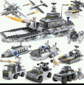 COGO 8 TO 1 Block Toy set - Big Battle Ship