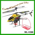 WL Toys  3.5ch rc basket-lifting helicopter with gyro V388 helicopter