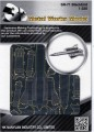 Metal Laser Etching 3D metal steel - SR-71 Blackbird 1:320