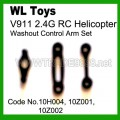 V911 rc helicopter parts - Replacement Washout control arm set