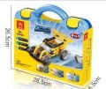 Educational Remote control RC Power Machine 3 IN 1 package 216pcs