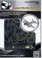 Metal Laser Etching 3D metal steel - Avro Lancaster Bomber 1:235