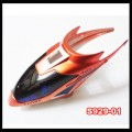 S929 rc helicopter parts - Replacement head cover Orange