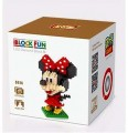 Loz diamond block Toys  Funny Cartoon Series, Minnie