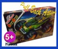 Pulzza Pull Back action racing car 71 pieces