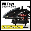 WL Toy S215 S977 iPhone / Andoird Phone IR Remote control helicopter built in Video Cam