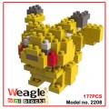 Weagle mini block toys - cartoon & aninmal - POKEMON Pikachu