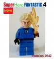 Decool Minfigure, Super Hero series, Fantastic 4, Human Torch No Package Box