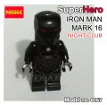 Decool minifigure - Ironman series III, Mark 16 Night Club