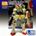 Loz diamond Block Toys - iRobots series, Gundam Frighter