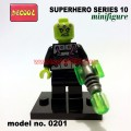 Decool minifigure -Super Heroes series 10, BRAINIAC 0201
