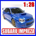 Remote control mini SUBARU IMPREZA racing car 1:28