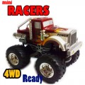 Radio Control RC mini OFF ROAD JEEP RACERS