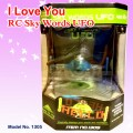 RC remote control Sky Words UFO RTF