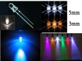100 numbers different colour 5mm diameter LED Ultra Bright bulbs set