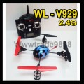 WL-V929 Ladybird GYRO 2.4G 4-Axis UFO X -Copter Aircraft Quadcopter Helicopter