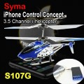 Syma i-Copter S107G mini 3-channel iPhone control (IR) RC iHelicopter (with Gyro)