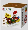 Loz diamond block Toys  Funny Christmas Series, Santa Claus