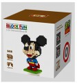 Loz diamond block Toys, Mickey Series, Mickey Superman