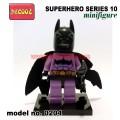 Decool minifigure -Super Heroes series 10, BATZARRO 0204