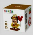 Loz diamond block Toys, Cartoon Series, Golden Mickey