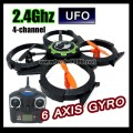 Udi 4 channel 6 Axia 2.4Ghz control mini UFO