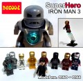 Decool minifigure - Ironman series III, Full Set