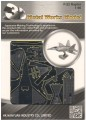 Metal Laser Etching 3D metal steel - F-22 Raptor 1:90